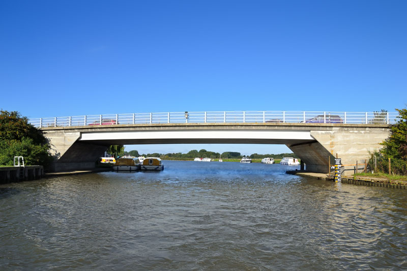 Acle Bridge on the River Bure