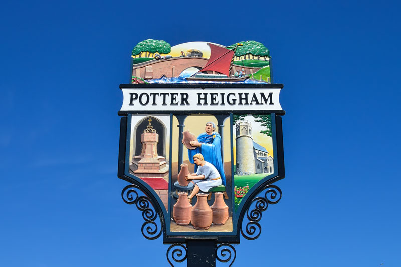 Potter Heigham Village Sign