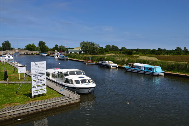 Public moorings at Potter Heigham