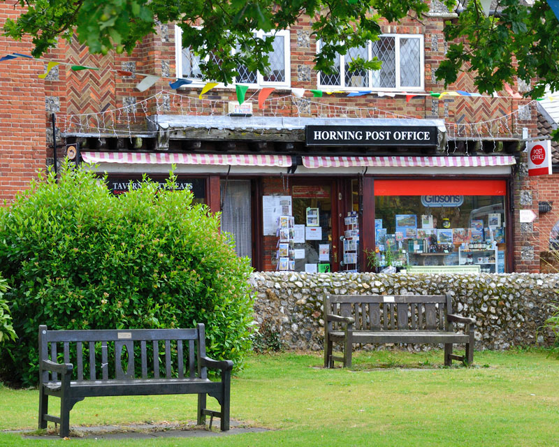 Horning Post Office on the Village Green