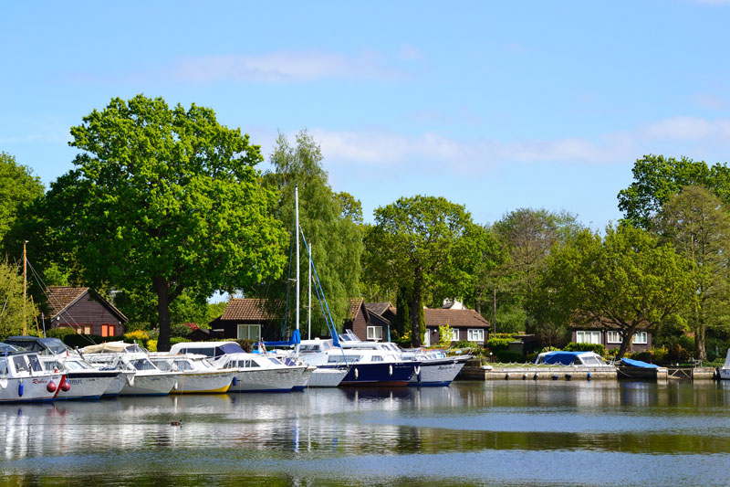 Private Moorings at Womack Staithe