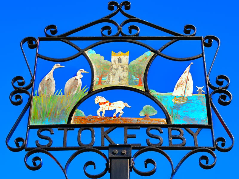 Stokesby Village Sign