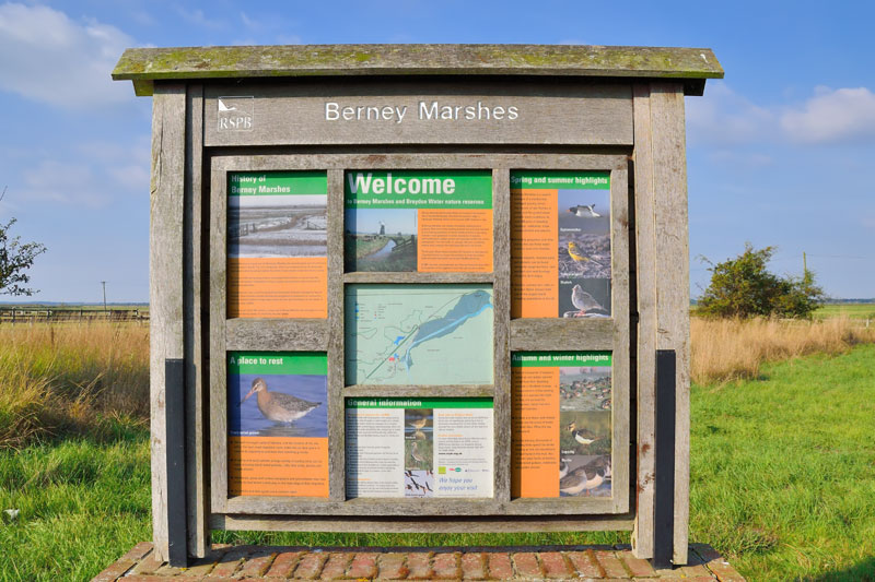 Berney Marshes Information Point