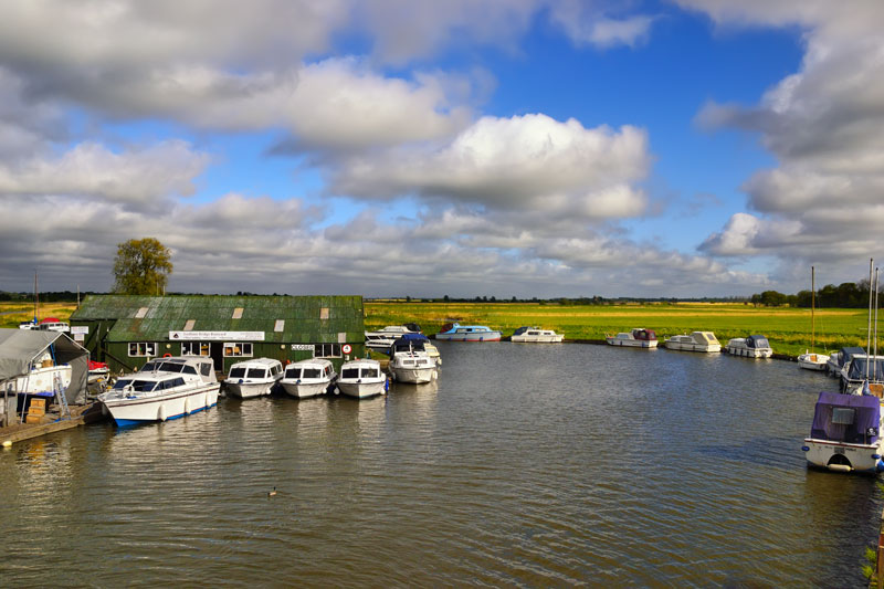 Ludham Bridge Boatyard, River Ant