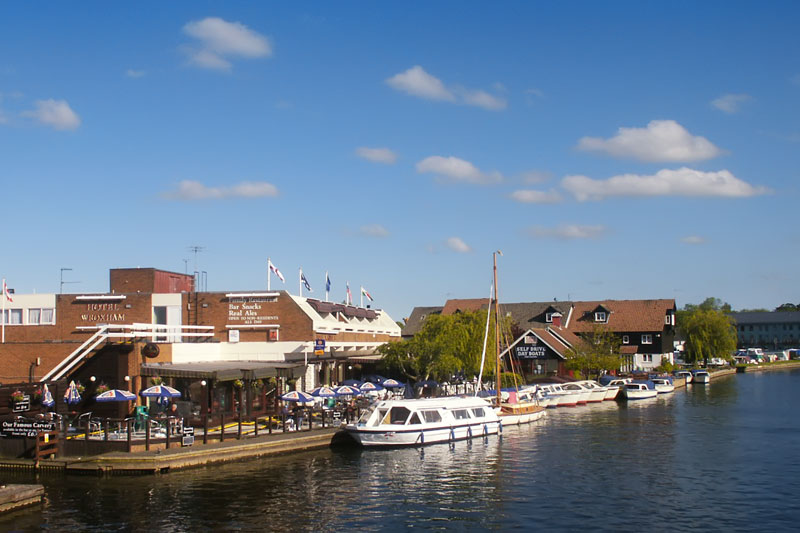 Hotel Wroxham and the River Bure