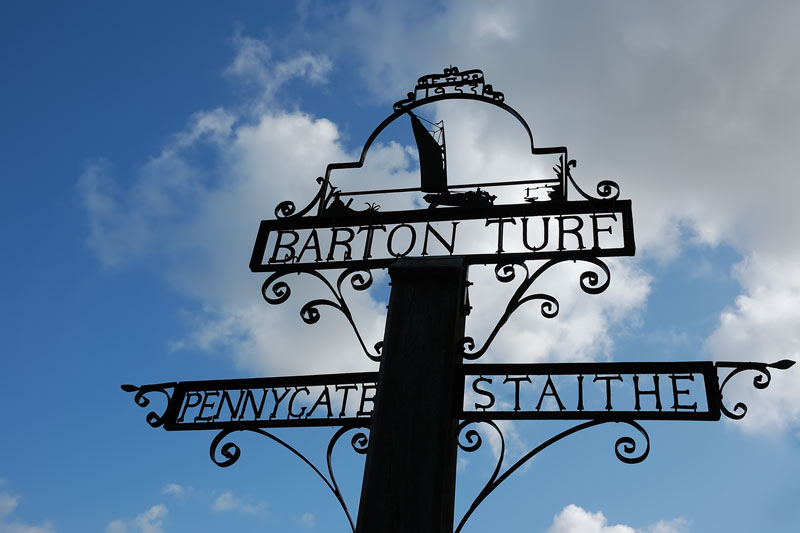 Barton Turf Village Sign