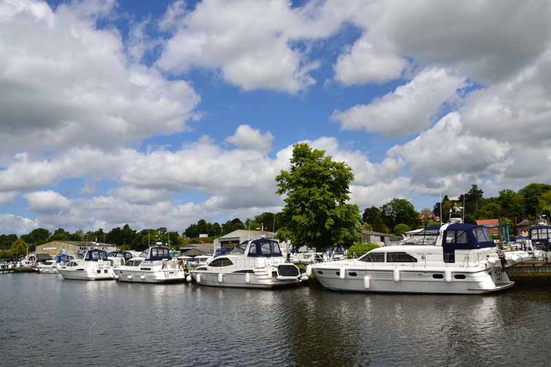 Brundall on the River Yare