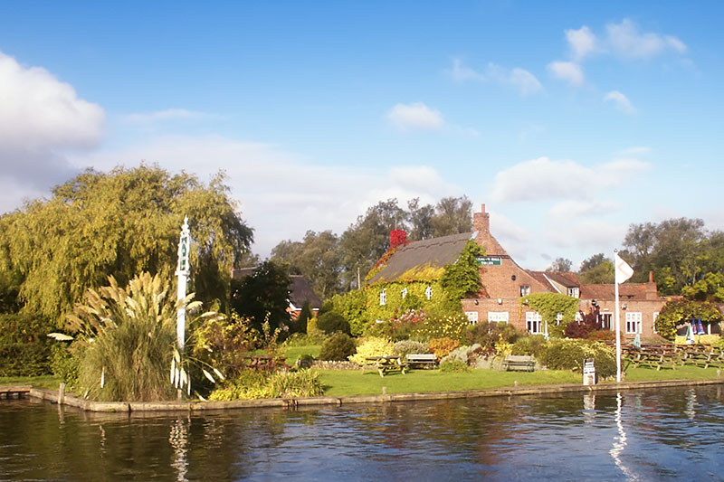 Coldham Hall, Surlingham on the River Yare