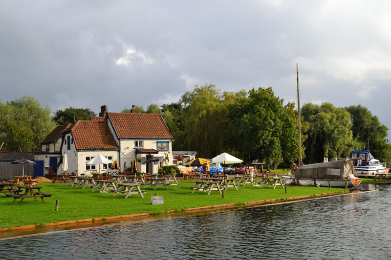 The Ferry House at Surlingham