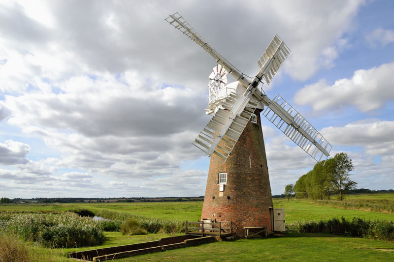 Hardley Drainage Mill