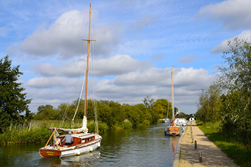 How Hill Staithe on the River Ant