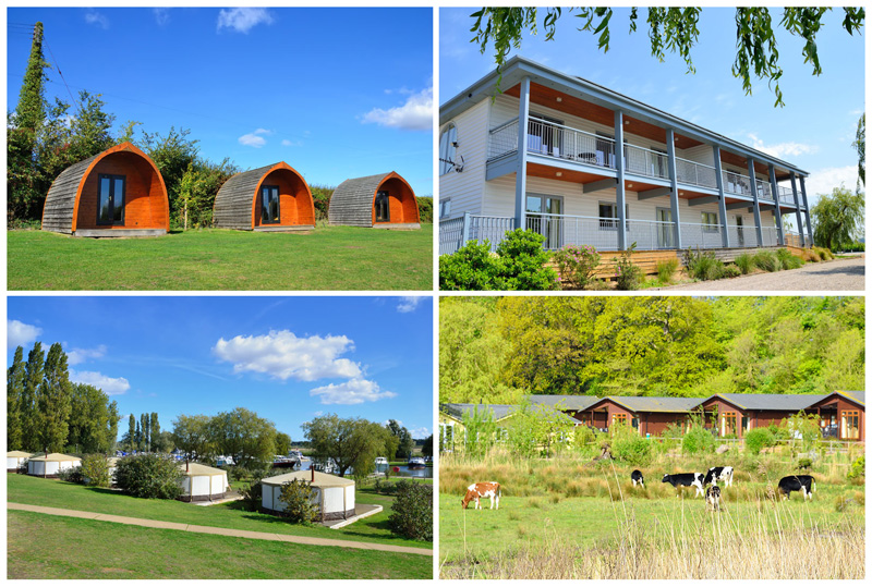 Holiday Accommodation Waveney River Centre - Pods, Apartments, Yurts and Lodges