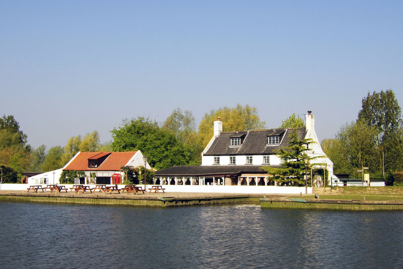 The Ferry Inn at Reedham on the River Yare