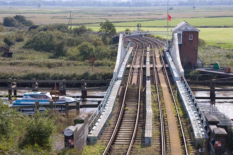 Reedham Swing Bridge