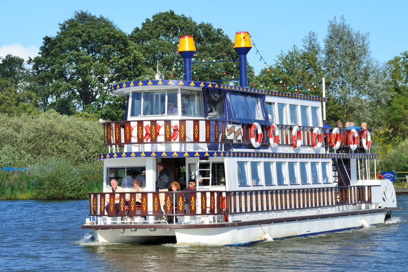 Southern Comfort Paddle Steamer