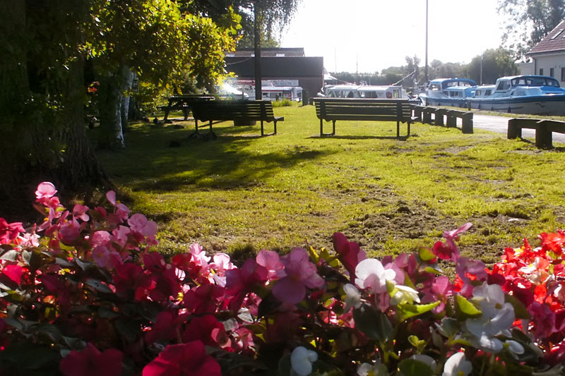 The Green by the Staithe at Stalham