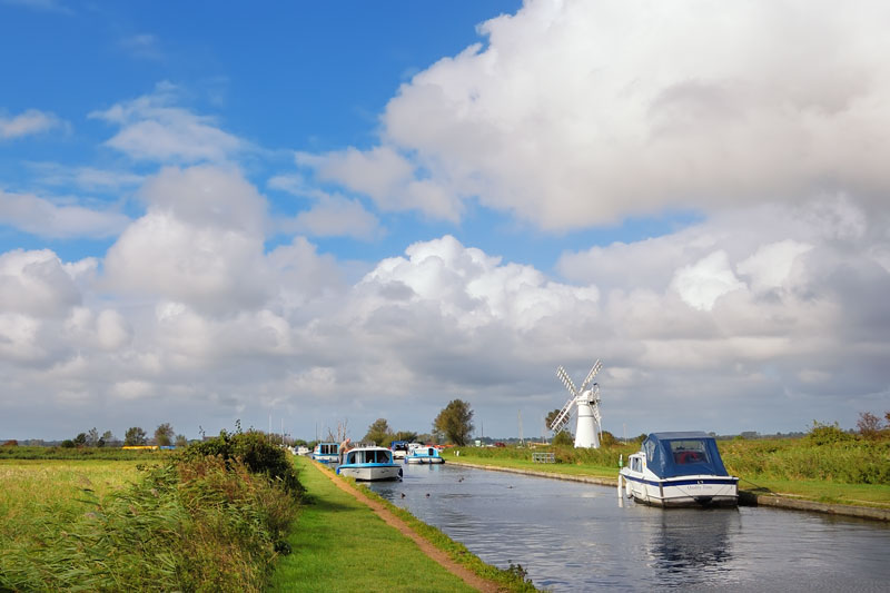 Thurne Dyke and White Mill