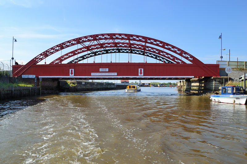 Vauxhall Bridge on the River Bure at Great Yarmouth