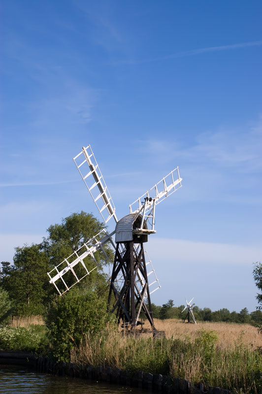 Boardmans and Clayrack Drainage Mill at How Hill