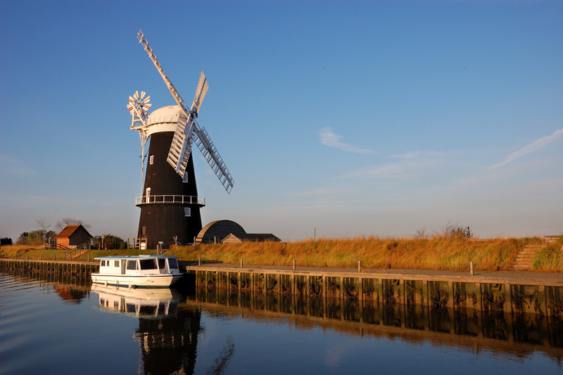 Berney Mill Moorings on the River Yare