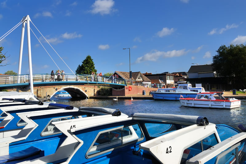 Wroxham Bridge and Granary Staithe