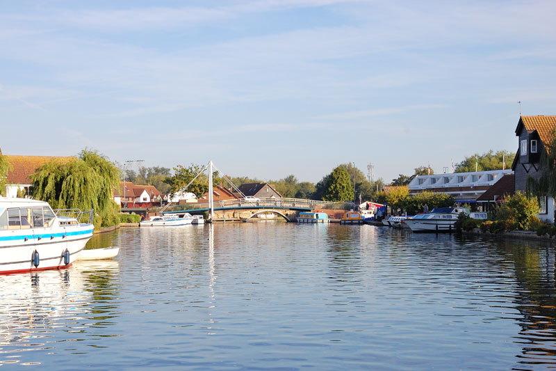 Wroxham on the River Bure