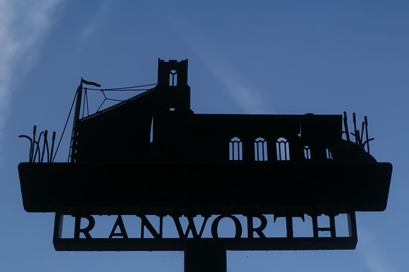 Ranworth village sign